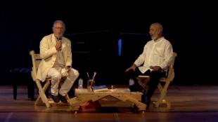 Leonardo Padura en conversación con Héctor Abad Faciolince