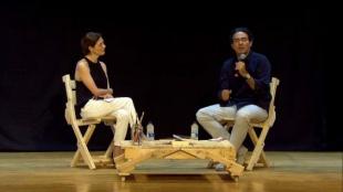 El lugar de la novela. Juan Gabriel Vásquez y Pilar Reyes