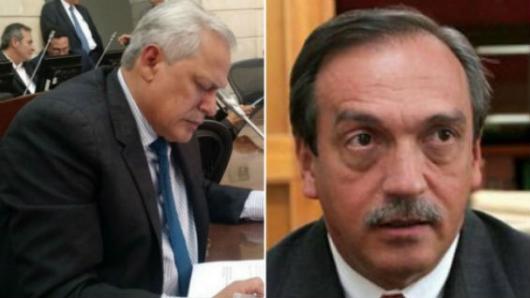 Senador Andrade, a declarar ante la Corte Suprema