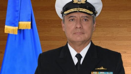 Vicealmirante Ernesto Durán, nuevo comandante de la Armada Nacional — COLOMBIA