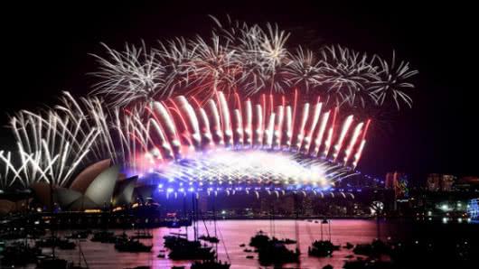 ¡Bienvenido 2018! El Año Nuevo ya se celebra en parte del mundo