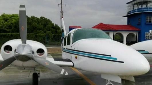 Sujetos armados hurtan avioneta de valores, en el aeropuerto de Aguachica, Cesar