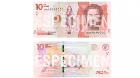 Banco de La República lanzó el nuevo billete de $2.000