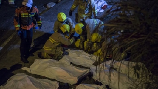 Accidente de autobús deja 18 Muertos y 62 heridos en Hong Kong