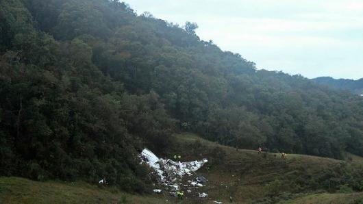 Cerro donde se estrelló avión en Colombia se llamará Chapecoense