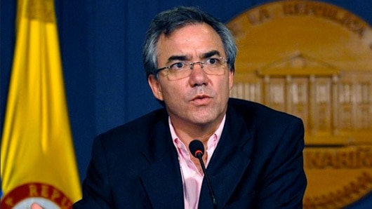 Juez autorizan libertad al ex ministro Diego Palacio