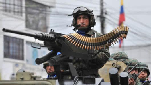 Operativo deja 5 detenidos y 20 allanamientos — Explosión en Esmeraldas