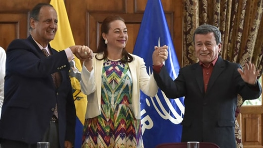 ONU se encamina a apoyar acuerdo entre gobierno colombiano y ELN