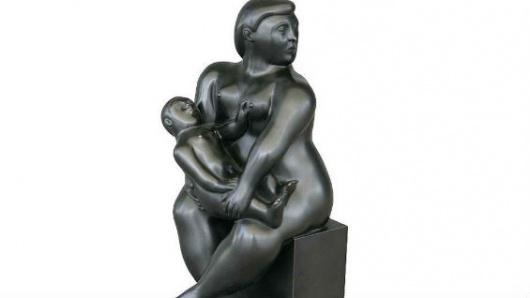 Roban una obra de Botero en plena galería de París
