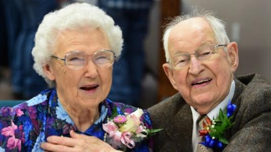 Irma y Harvey son una pareja de ancianos en la vida real