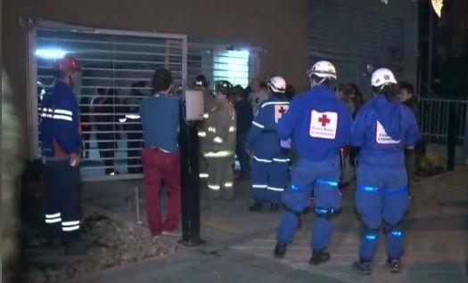 26 personas heridas tras explosión en edificio del norte de Bogotá