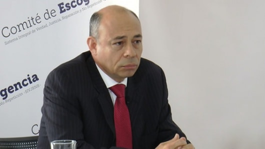 Giovanni Álvarez fue elegido como fiscal de la JEP — COLOMBIA