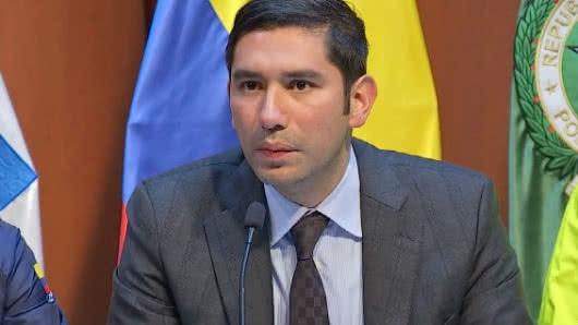 Santos confirmó la extradición del exfiscal Gustavo Moreno a Estados Unidos