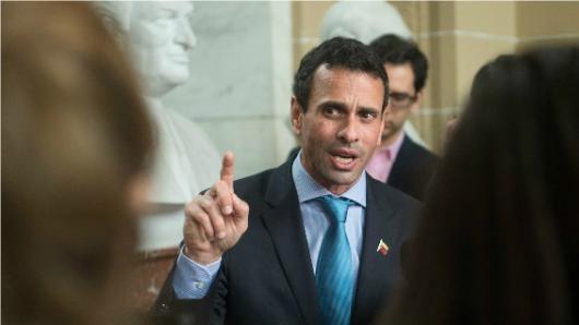 Gobierno de Colombia expresa su preocupación por la inhabilitación de Henrique Capriles