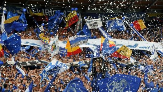 Hinchas de Millonarios causan desmanes en TransMilenio