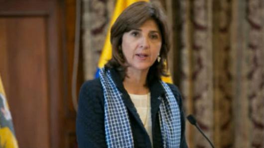 María Ángela Holguín y Rex Tillerson reafirmaron compromiso en la lucha antinarcóticos