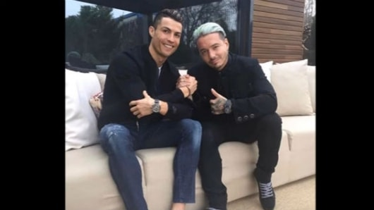 ¿En qué andan J Balvin y Cristiano Ronaldo?