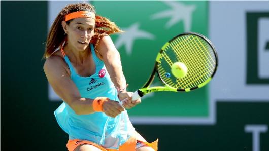Mariana Duque supero la primera ronda del Roland Garros