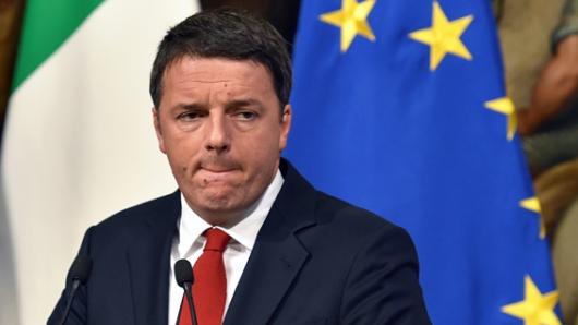 Renzi presentará su dimisión este lunes tras derrota en referendo