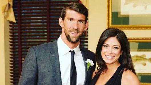 Resultado de imagen de Michael Phelps se casó en secreto