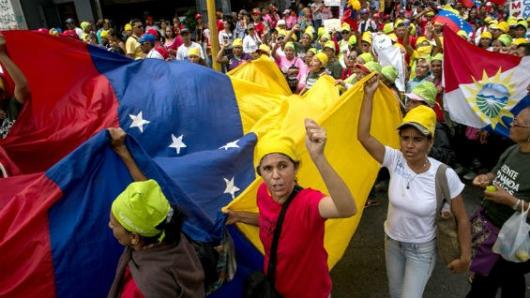 Nueva protesta en Venezuela pidiendo por libertad de expresión