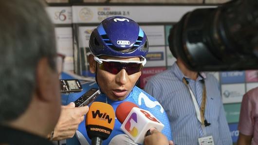 ¿Campaña de Petro está usando ilegalmente la imagen de Nairo Quintana?