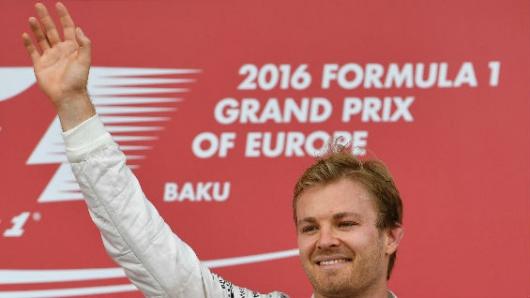 Rosberg, campeón del mundo de Fórmula Uno