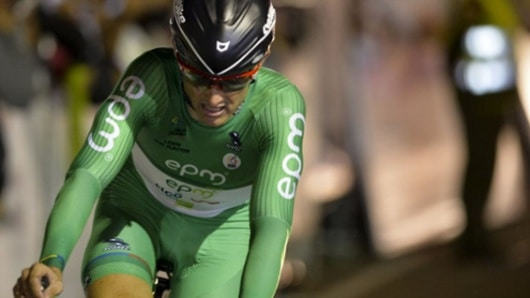 Taxista que participó en el robo al ciclista Óscar Sevilla fue identificado