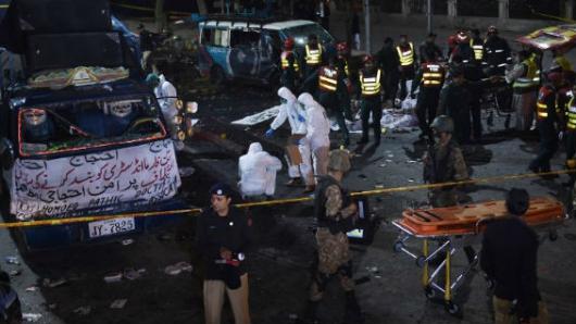 Explosión en Pakistán deja al menos 13 muertos