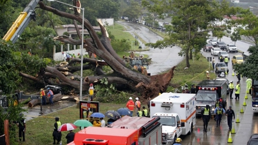 Ordenan evacuar en Costa Rica y Nicaragua por alerta de tormenta Otto
