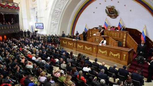 Resultado de imagen para Parlamento venezolano suspende sesión ordinaria por amenaza de bomba