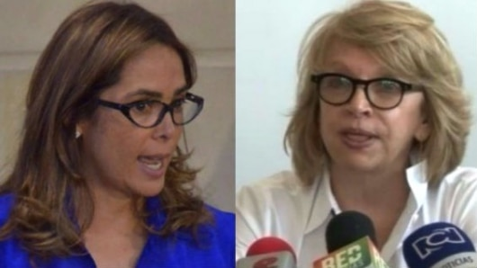 Fiscalía cita a interrogatorio a exministras Parody y Álvarez