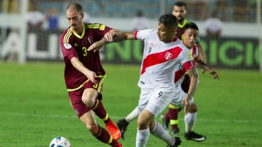 Perú contra Venezuela: André Carrillo descontó al primer minuto del segundo tiempo