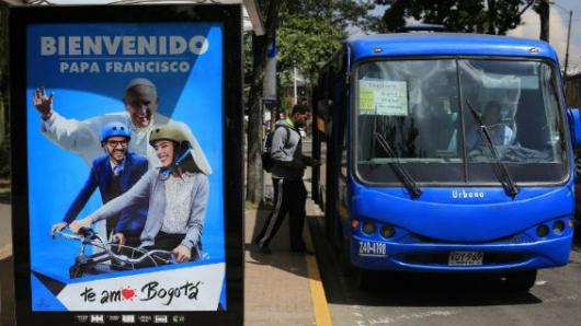 Papa pide a colombianos reconciliarse como hermanos y con el medio ambiente
