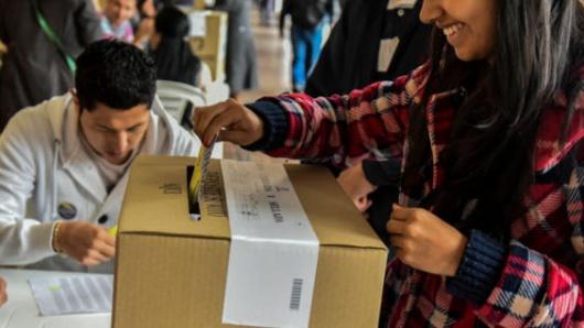 Resultado de imagen para votaciones extranjeros