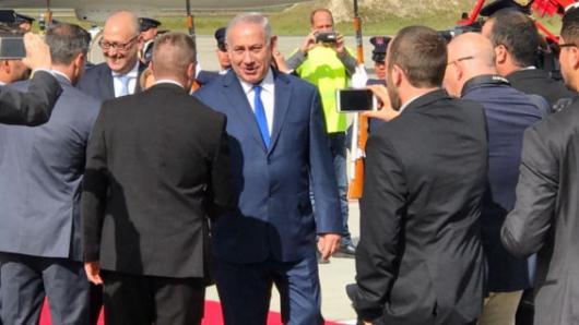 Benjamín Netanyahu, llegó a Colombia para realizar una visita de trabajo en la que busca fortalecer los lazos comerciales con el país.