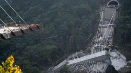 Peritos de la Fiscalía analizarán las causas del colapso del puente Chirajara