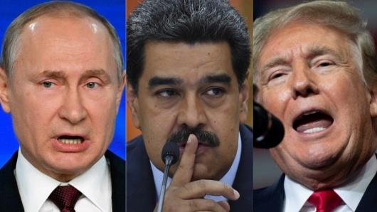 """Resultado de imagen para Donald Trump habla con Putin de Venezuela y pide permitir una """"transición pacífica"""""""
