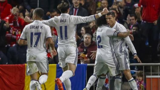 Al Real Madrid le sobró para pasar a octavos