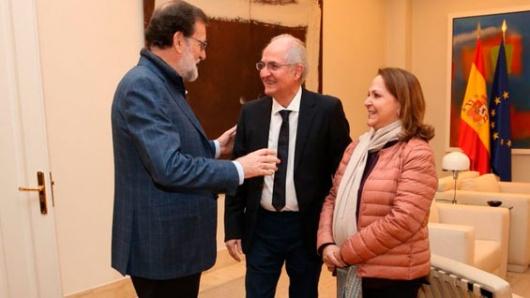 Antonio Ledezma y Diego Arria se reúnen en Madrid