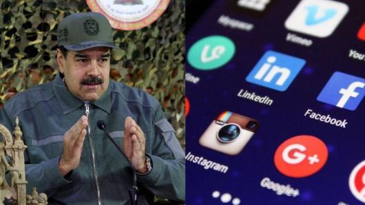 Resultado de imagen para bloqueo de redes por parte de Maduro