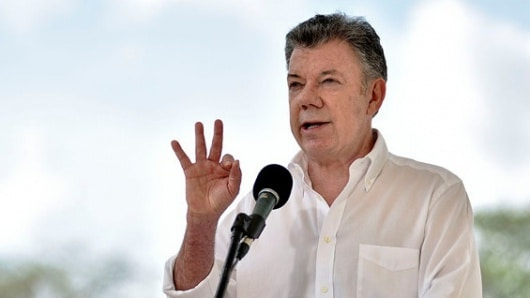 Santos ratifica compromiso con la paz de Colombia