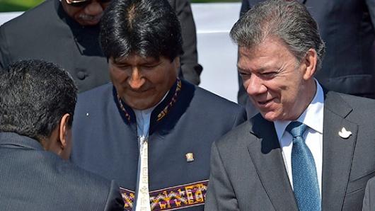 Santos llegará al país para tratar coca, úrea y energía