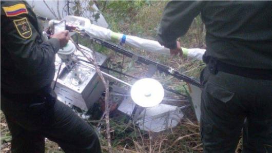 Satélite de Google habría caído en San Luis (Tolima)