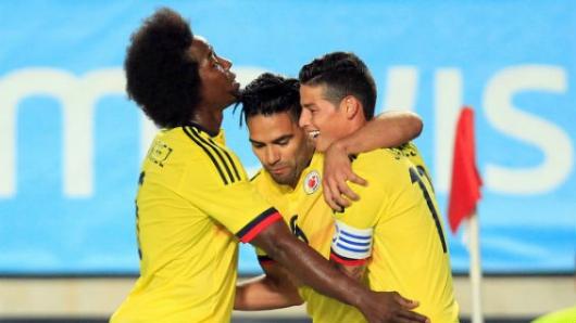 La Selección Colombia arribó a Madrid