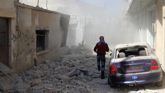 Reportan supuesto ataque con gas cloro en Alepo