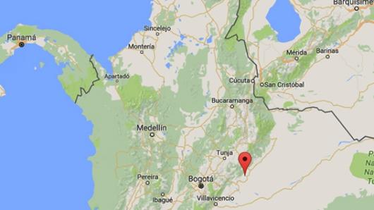 Fuerte sismo se sintió en el centro de Colombia
