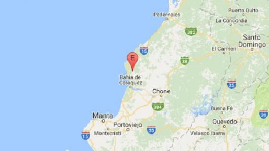 Sismo de 6 grados se reporta en Bahía de Caraquez