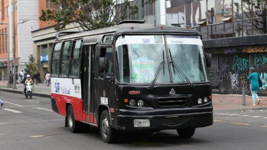 Sube $100 la tarifa del transporte público colectivo en Bogotá