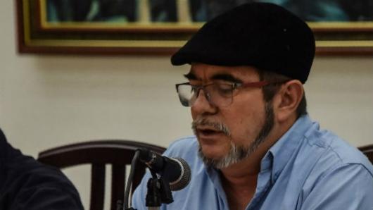 Londoño, en Colombia para convertir FARC en partido político